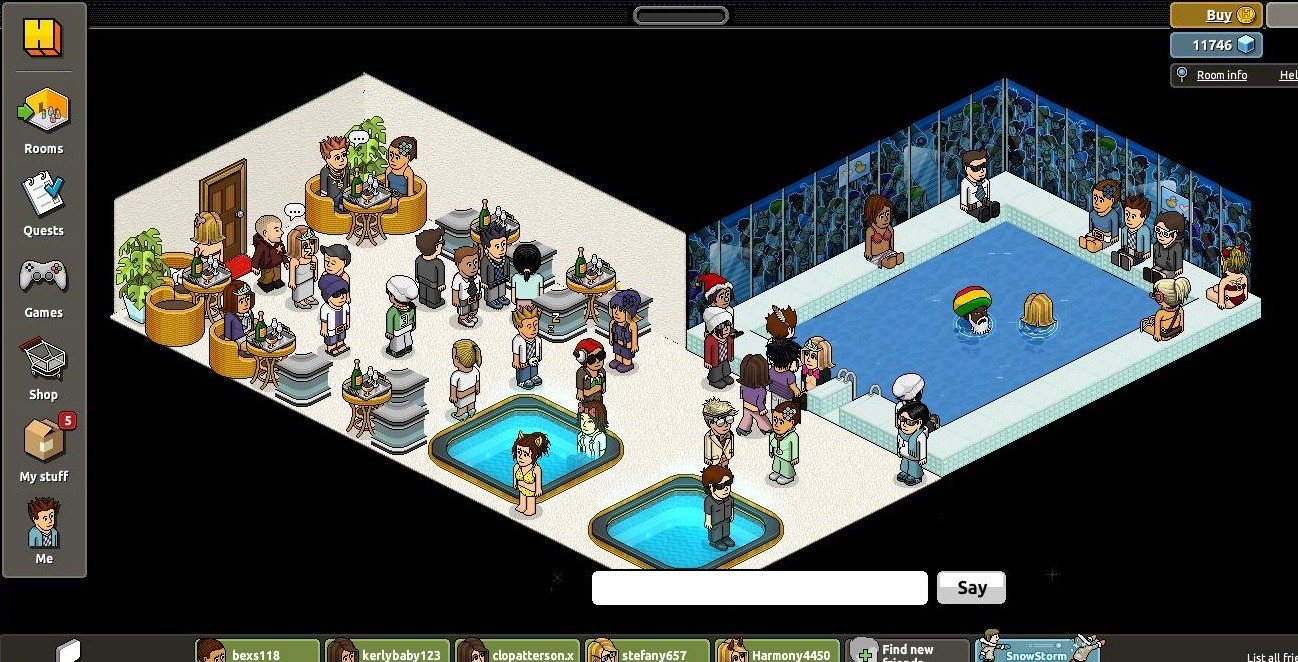 Habbo Hotel Virtual Worlds For Adults