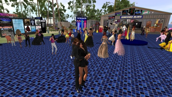 SecondLife formal dance