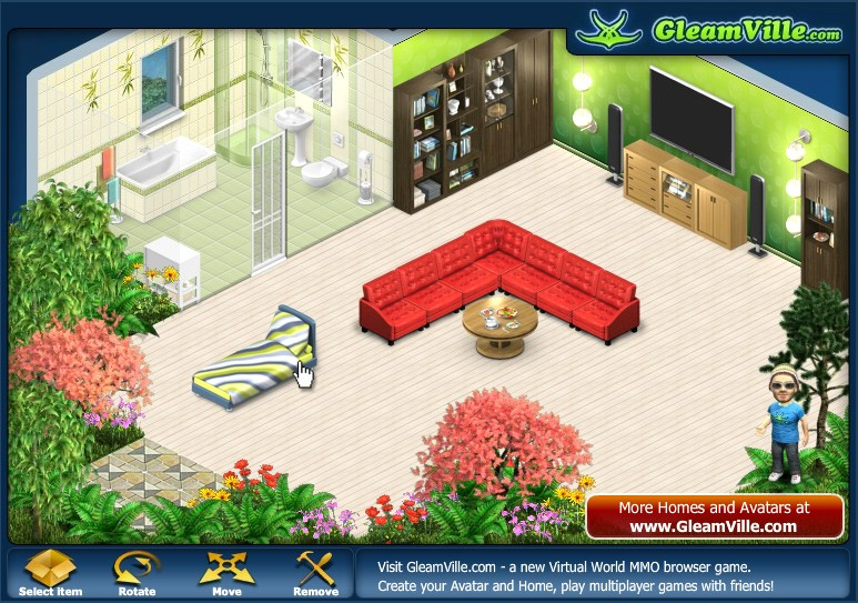 home decoration games online